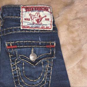 joey super t true religion jeans